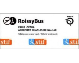 RoissyBus - Bus shuttle Airport C. de Gaulle/Paris