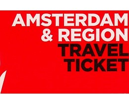Amsterdam and Region Travel Tiscket
