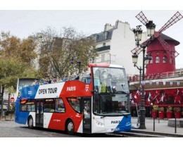 Paris OpenTour - Touristic Bus