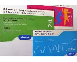 Amsterdam GVB travelcard
