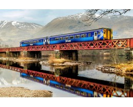 Britrail Spirit Scotland Pass
