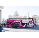 Hop-On Hop-Off touristic bus Rome