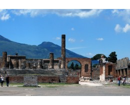 Tour da Roma a Pompei con guida multilingue e audioguida in Italiano