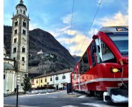 Trenino del Bernina, il treno panoramico più affascinante d'Europa
