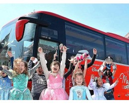 Magical Shuttle - bus navetta aeroporti/Disneyland