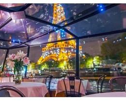 Marina de Paris crociera con cena a bordo