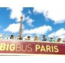 Paris Big Bus Hop on Hop off Pass- Bus Turistico Parigi