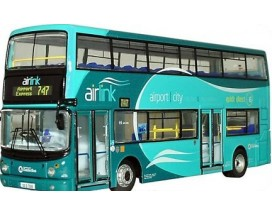 Dublin Airlink bus - airport - city center